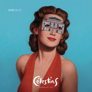 couverture programme theatre celestins Roca