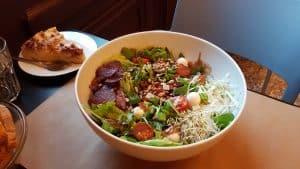 Salade végétarienne auThéâtre des Célestins