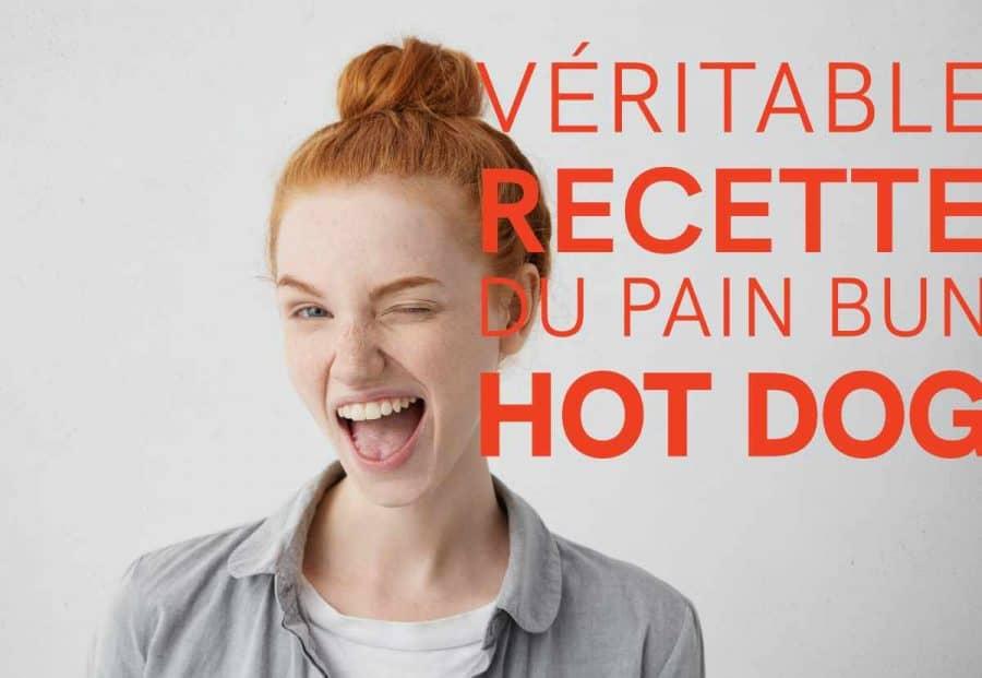 veritable recette pain bun hot dog 2