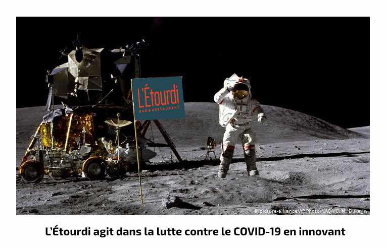 L'Etourdi agit contre le COVID-19